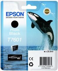 Cartridge do tiskárny Originálna cartridge EPSON T7601 (Foto čierna)