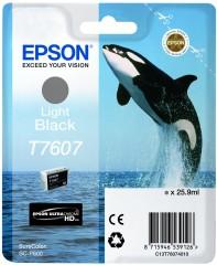 Cartridge do tiskárny Originálna cartridge Epson T7607 (Svetlo čierna)