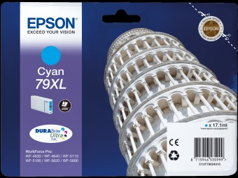 Originálna cartridge  EPSON T7902 (Azúrová)