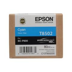 Cartridge do tiskárny Originálna cartridge EPSON T8502 (Azúrová)