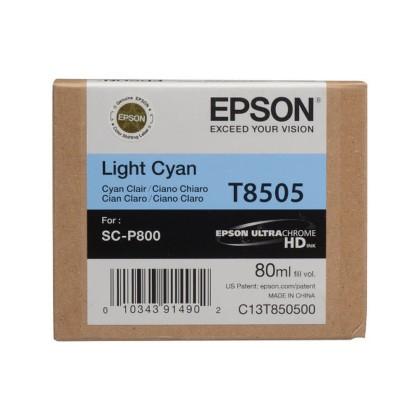 Originálna cartridge EPSON T8505 (Svetlo azúrová)