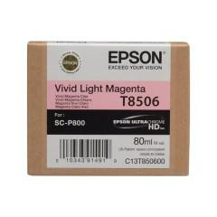 Cartridge do tiskárny Originálna cartridge EPSON T8506 (Svetlo purpurová)