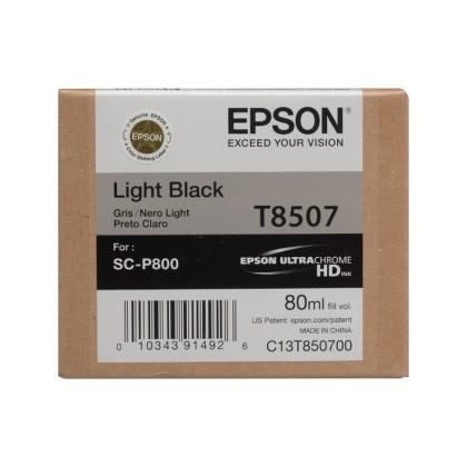 Originálna cartridge Epson T8507 (Svetlo čierna)
