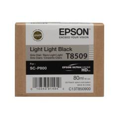 Cartridge do tiskárny Originálna cartridge Epson T8509 (Svetlo svetle čierna)