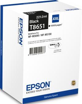 Originálna cartridge Epson T8651 (Čierna)
