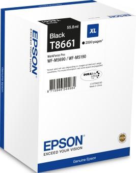 Originálna cartridge Epson T8661 (Čierna)