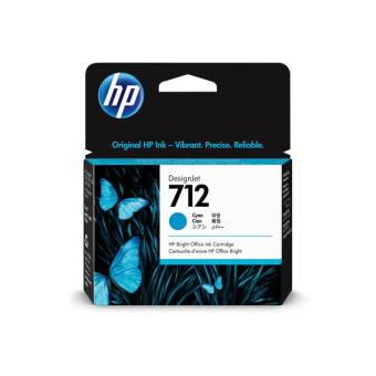 Originálna cartridge HP č. 712 (3ED67A) (Azúrová)