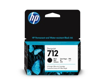 Originálna cartridge HP č. 712 (3ED70A) (Čierna)