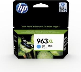 Originálna cartridge HP č. 963XL (3JA27A) (Azúrová)