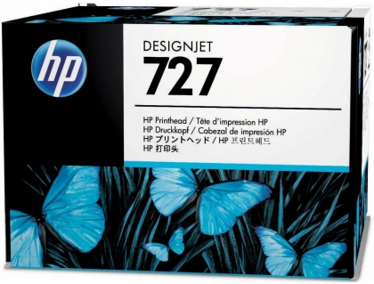 Originálna tlačová hlava HP č. 727 (B3P06A) (Farebná)