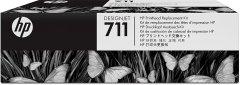Cartridge do tiskárny Originálna tlačová hlava HP č. 711 (C1Q10A) (Farebná)