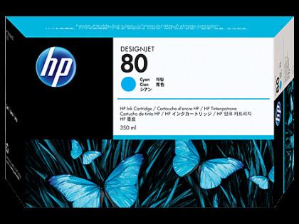 Originálna cartridge HP č. 80 (C4846A) (Azúrová)
