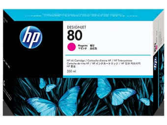 Originálna cartridge HP č. 80 (C4847A) (Purpurová)