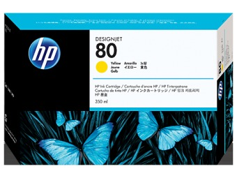 Originálna cartridge HP č. 80 (C4848A) (Žltá)