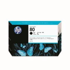 Cartridge do tiskárny Originálna cartridge HP č. 80 (C4871A) (Čierna)