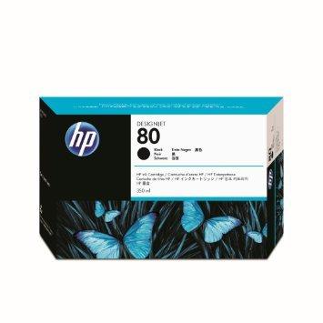 Originálna cartridge HP č. 80 (C4871A) (Čierna)