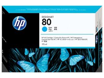 Originálna cartridge HP č. 80 (C4872A) (Azúrová)