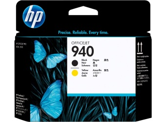 Originálna tlačová hlava HP č. 940 (C4900A) (Čierna, žltá)