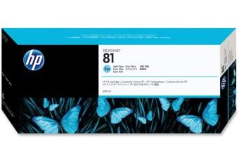 Originálna cartridge HP č. 81 (C4934A) (Svetlo azúrová)