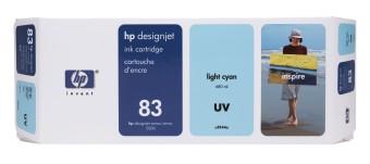 Originálna cartridge HP č. 83 (C4944A) (Svetlo azúrová)