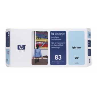 Originálna tlačová hlava HP č. 83 (C4964A) (Svetlo azúrová)