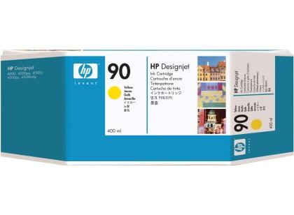 Originálna cartridge HP č. 90 (C5065A) (Žltá)