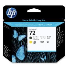 Cartridge do tiskárny Originálna tlačová hlava HP č. 72 (C9384A) (Matná čierna, žltá)