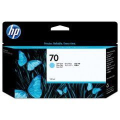 Cartridge do tiskárny Originálna cartridge HP č. 70 (C9390A) (Svetlo azúrová)