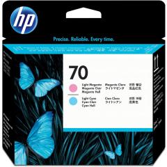 Cartridge do tiskárny Originálna tlačová hlava HP č. 70 (C9405A) (Svetlo azúrová, svetlá purpurová)