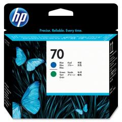 Cartridge do tiskárny Originálna tlačová hlava HP č. 70 (C9408A) (Modrá, zelená)