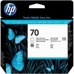 Cartridge do tiskárny Originálna tlačová hlava HP č. 70 (C9410A) (Sivá)