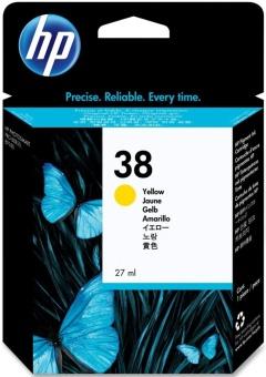 Originálna cartridge HP č. 38 (C9417A) (Žltá)