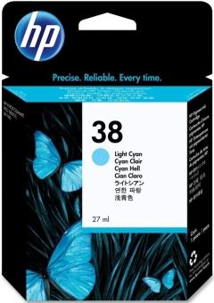 Originálna cartridge HP č. 38 (C9418A) (Svetlo azúrová)