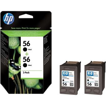 Sada originálných cartridge HP č. 56 (C9502AE)