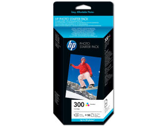 Originálna cartridge HP č. 300C (CG846EE) + fotopapier