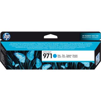 Originálna cartridge HP č. 971C (CN622AE) (Azúrová)