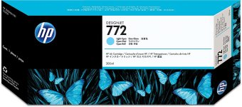 Originálna cartridge HP č. 772 (CN632A) (Svetlo azúrová)
