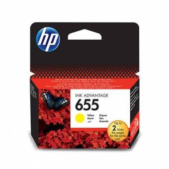 Originálná cartridge HP č. 655 (CZ112AE) (Žltá)