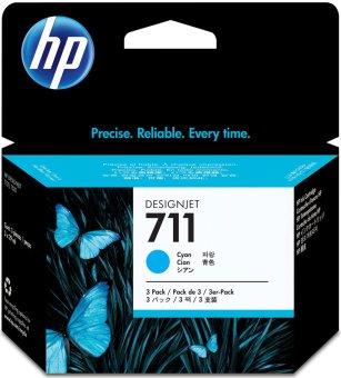 Originálna cartridge HP č. 711 (CZ134A) (Azúrová)
