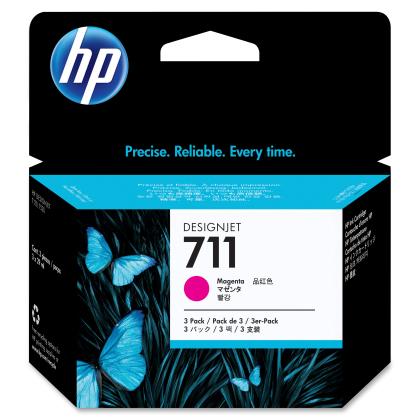Originálna cartridge HP č. 711 (CZ135A) (Purpurová)