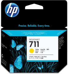Cartridge do tiskárny Originálna cartridge HP č. 711 (CZ136A) (Žltá)