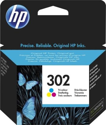 Originálna cartridge HP č. 302 (F6U65AE) (Farevná)