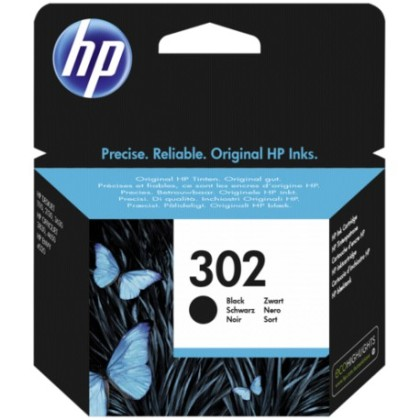 Originálna cartridge HP č. 302 (F6U66AE) (Čierná)