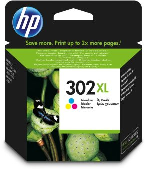 Originálna cartridge HP 302XL (F6U67A) (Farevná)