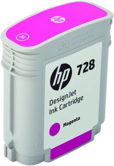 Originálna cartridge HP č. 728 (F9J62A) (Purpurová)