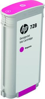 Originálna cartridge HP č. 728 (F9J66A) (Purpurová)