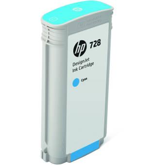 Originálna cartridge HP č. 728 (F9J67A) (Azúrová)