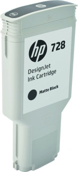 Originálna cartridge HP č. 728 (F9J68A) (Matne čierna)