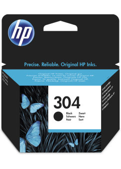 Originálna cartridge HP 304 (N9K06AE) (Čierná)