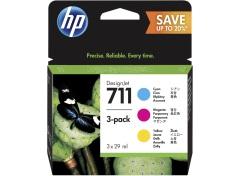 Sada originálných cartridge HP č. 711 (P2V32A)